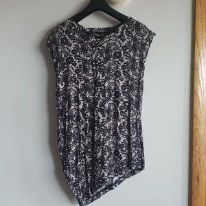 3 for $20! ❤ Cynthia Rowley Asymmetrical Top
